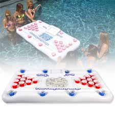 Pool Beer Pong Table by Aliexpress Com Buy 2017 New 170cm 28 Cup Holder Inflatable Beer