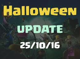 scary pumpkin coc clash of clans update history clash of clans halloween update