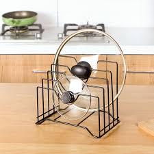 kitchen cabinet door pot and pan lid rack organizer cabinet door organizer rack pot pan lid storage holder