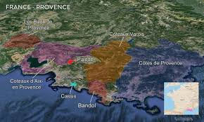 Provence France Map by Map France Wine Regions U2014 Tenzing