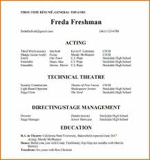 acting resume template 7 acting resume template resumes word