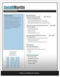 Free Word Resume Template Best Resume Template Microsoft Word Good Updated Resume Format