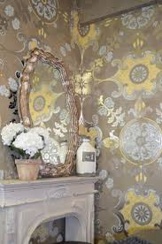 42 best wall paper and stencils images on pinterest wall