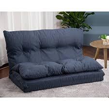 image of sofa merax adjustable fabric folding chaise lounge sofa