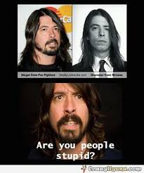 Foo Fighters Meme - funny celebrity finding singer from foo fighters david grohl