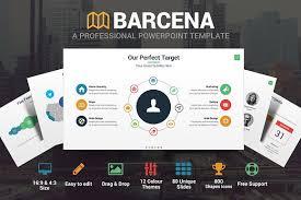 barcena powerpoint template presentation templates creative