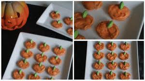 halloween pretzel cute and easy pumpkin pretzel halloween treats youtube