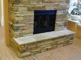 fireplace stone home decor