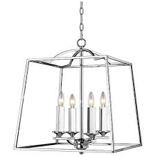 Large Foyer Lantern Chandelier Athena 19