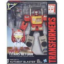 transformers generations titans return autobot blaster and twin