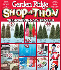 garden ridge shop a thon starts thanksgiving day black friday