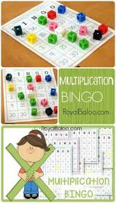 multiplication fact booklets free printables to practice