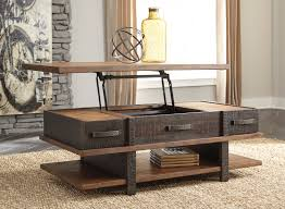 ashley stanah lift top coffee table dream rooms furniture
