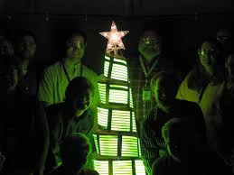 top 10 crazy christmas trees made from bottles bikes shopping