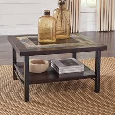 marble sofa table coffee table ashley sectional glass coffee table square wood