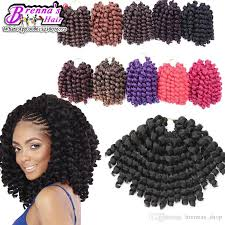 jamaican hairstyles black 2018 synthetic braids 8 10inch 80g crochet braids jamaican bounce