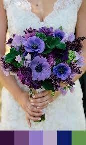 purple bouquets 10 colorful purple bouquets coordinating palettes wedding colors