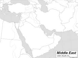 Geography Blog Russia Outline Maps by Blank Outline Map Of Middle East Countries My Blog Editable Blank