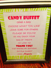 ideas for halloween candy bags candy buffet sweet 16 ideas pinterest buffet sweet 16 and
