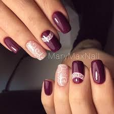 35 maroon nails designs maroon nails white nail polish and