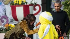 Duck Halloween Costume Lame Duck U0027 Costume Steals Show Obamas U0027 Halloween Event Abc13