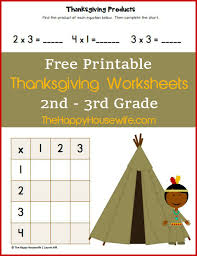 thanksgiving worksheets free printables happy housewife