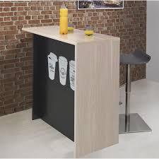 image ilot de cuisine coffee ilot de cuisine avec plan de travail l 120 cm décor chêne