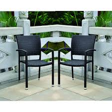 Pvc Wicker Outdoor Furniture by Stackable Resin Wicker Chair