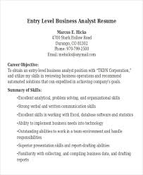 Entry Level Business Analyst Resume Examples by 25 Modern Business Resume Templates Free U0026 Premium Templates