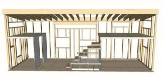 studio600 small house plan glamorous modern tiny house plans