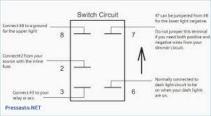 lighted rocker switch wiring diagram kwikpik me