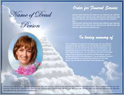 funeral booklet templates funeral brochure templates free custom card template funeral