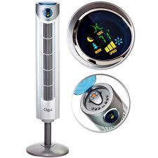 ozeri 360 oscillation tower fan ozeri ultra 42 in wind fan adjustable oscillating tower fan with