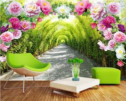 Wall Coverings For Bedroom Wallpaper Murals Flowers Picture More Detailed Picture About