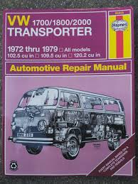 repair manual campervan crazy