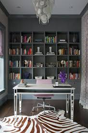lucite desk ideas home office transitional with clear desk leather
