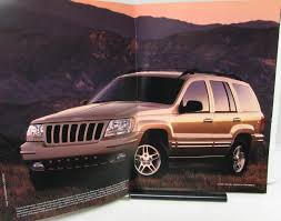 jeep grand cherokee laredo u0026 limited prestige color xl sales brochure