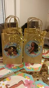 candy bags moana set of 12 birthday candy bags kids baby popsy