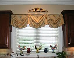 Board Mounted Valance Ideas Confortable Valances For Kitchen Amazing Kitchen Design Furniture