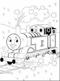 fantastic thomas train coloring pages printable with thomas the