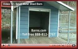 Small Metal Barns Video Tours Of Barns U0026 Metal Buildings We Can Build For You