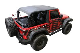 jeep convertible 4 door amazon com rampage products 109935 black frameless soft top kit