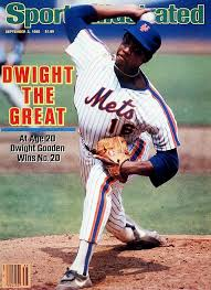 Doc Gooden Ex 1986 Mets - dwight gooden sports illustrated cover september 2 1985