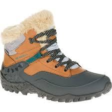 merrell womens boots size 12 merrell s fluorecein shell 6 waterproof winter boots brown