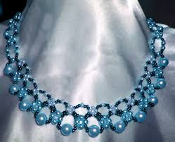 free necklace pattern images Free pattern for pretty necklace sea date beads magic jpg
