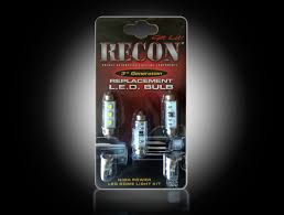 chevy silverado interior lights recon 264161 gm dome light set led replacement fits gmc chevy 00