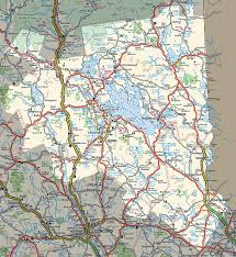 Nh Map Nh Government U0026 Visitor Info