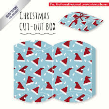 mega collection of 38 cut out christmas box templates part 4