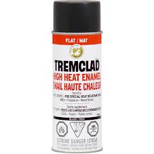Semi Gloss Black Spray Paint Tremclad U003e High Heat U003e High Heat