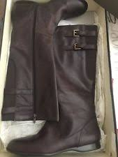 womens brown leather boots size 11 enzo angiolini eazaniah womens brown leather boots shoes us size